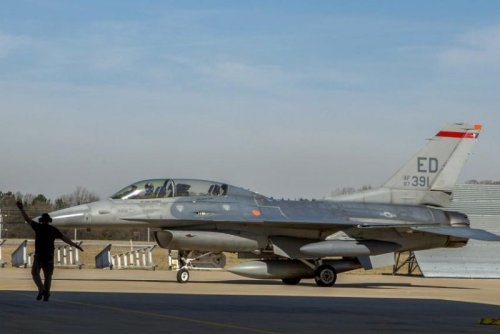 Lockheed Martin's new sustainment depot receives its first F-16