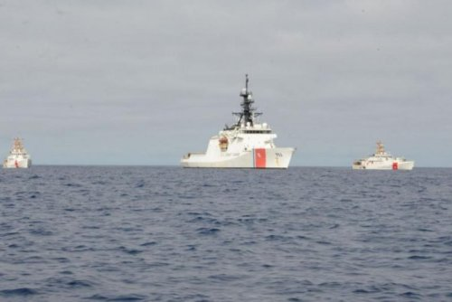 U.S. Coast Guard cutters arrive in Spain after Atlantic crossing