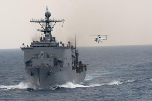 USS Germantown returns to San Diego after a decade in Japan