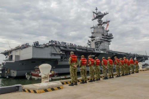 Elevators aboard USS Gerald R. Ford to be fixed after shock trials