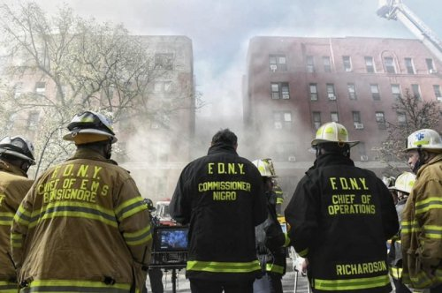 21 injured in 8-alarm fire that tore through NYC apartment building