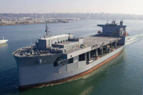 Expeditionary sea base USS Miguel Keith to be commissioned on Saturday