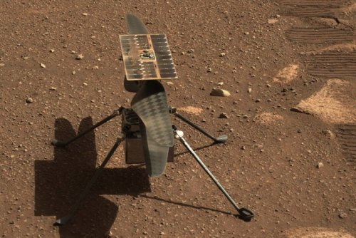 Mars helicopter performs well before first flight