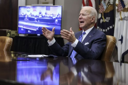 Joe Biden: 'Astounding' Mars rover landing inspired world
