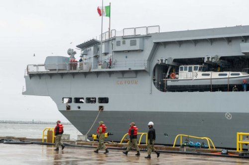 Italian aircraft carrier cleared by joint program office to operate F-35Bs