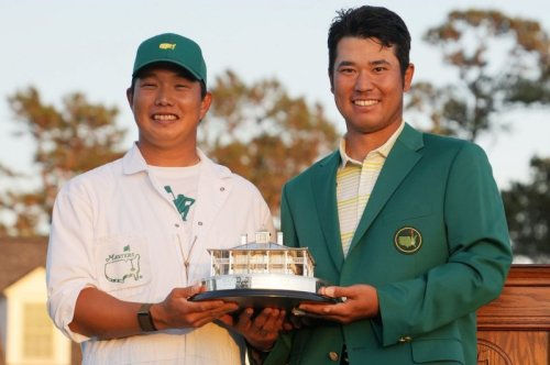 Jack Nicklaus, Tiger Woods praise Hideki Matsuyama for historic Masters win