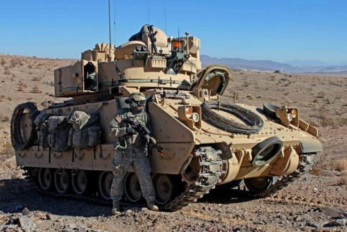 Five companies picked for prototypes of Bradley M2 tank replacement