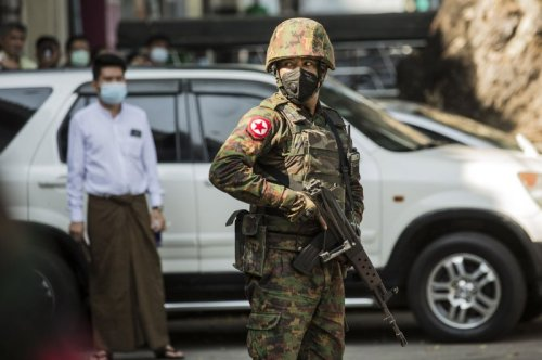 Soldiers leaving Myanmar's air force by the dozens, report says