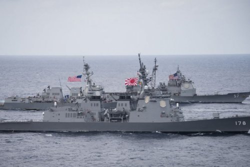 U.S.-Japan navy chiefs cite alliance as 'a cornerstone' of Indo-Pacific security