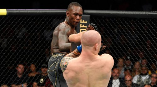 Israel Adesanya Dominated Martin Vettori For Five Rounds At UFC 263