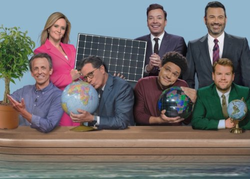All The Late Night Hosts Banded Together To Highlight Climate Change