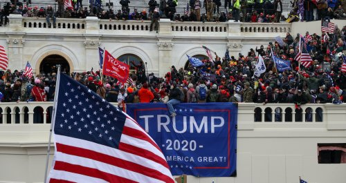 Capitol Police Reportedly Told To Go Easy On MAGA Rioters On January 6