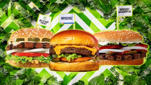 All The Best Plant-Based Fast-Food Burgers, Ranked