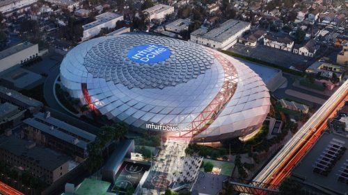 The Clippers Released A Video Of Renderings For The New Intuit Dome