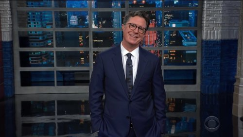 Stephen Colbert Is Shocked That Trump Wanted Late-Night Hosts Silenced