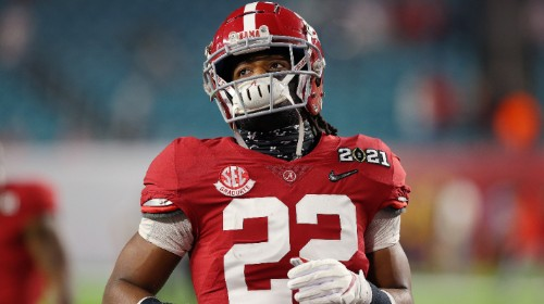 Najee Harris Had A Hilarious Response To 'Effortlessly' Beating OSU