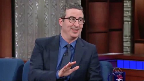 A Resurfaced John Oliver Prediction About Meghan Markle And The Royals