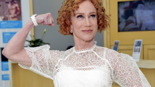 Kathy Griffin Revealed Her Battle With Painkiller Addiction