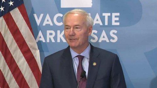 Arkansas Gov. Asa Hutchinson Regrets Signing Law Banning Mask Mandates
