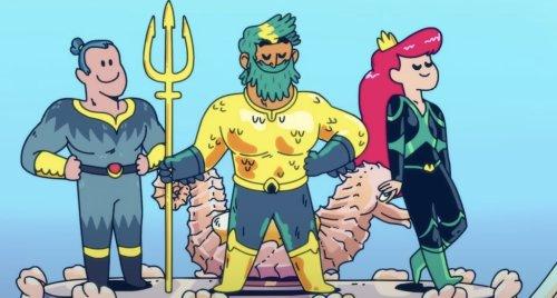 'Aquaman: King Of Atlantis' Trailer Far Sillier Than The Movies