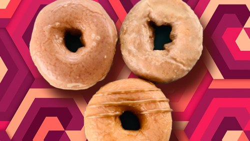 Our Review Of Krispy Kreme's 3 New Fall Apple Cider Glazed Doughnuts