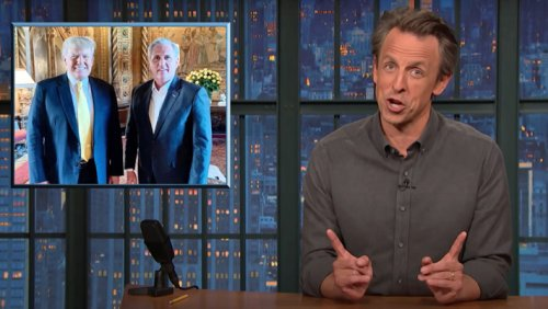 Seth Meyers Dismantles Ron DeSantis For Signing Voting Law On Fox News