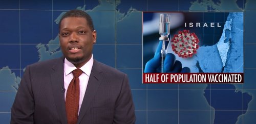 'SNL' Joke About Israel's Vaccine Rollout Is Causing Chaos On Fox News