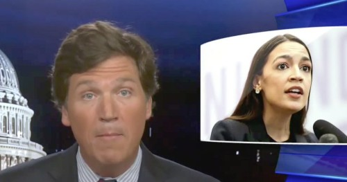 Tucker Carlson's 'Vile' Attack On AOC Is Being Widely Mocked