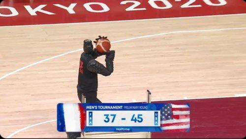 The Olympics Basketball Robot Had Everyone Making Ben Simmons Jokes