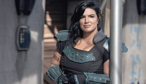 'Mandalorian' Star Gina Carano Did Some Bad Social Media Posts (Again)