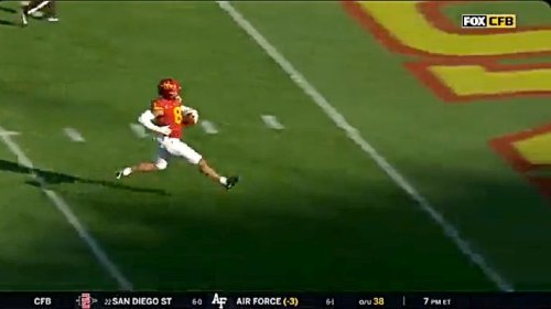 Iowa State Had A Touchdown Taken Away On The Worst 'Taunting' Penalty Of The Season - UPROXX