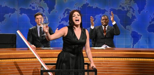 Cecily Strong Spills The Details About That 'Weekend Update' Wine Tank