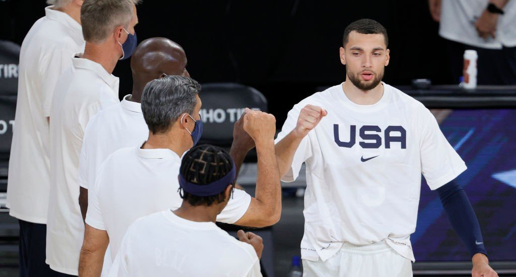 Team USA Flew To Tokyo Without Zach LaVine Who Is In COVID Protocols