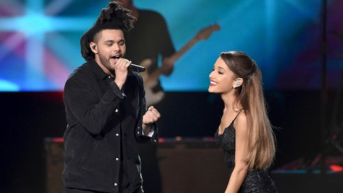 The Weeknd And Ariana Grande's 'Save Your Tears' Is No. 1 For 2 Weeks
