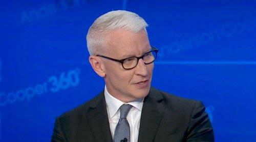 Anderson Cooper Has Perfect Comparison For Trump's Bonkers 'Rambling'