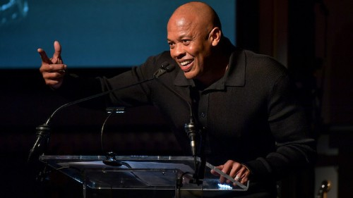 Dr. Dre Returned Home After Brain Aneurysm And Stopped By The Studio