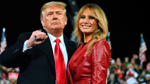 Trump And Melania Were Vaccinated In January But Didn't Tell Anybody