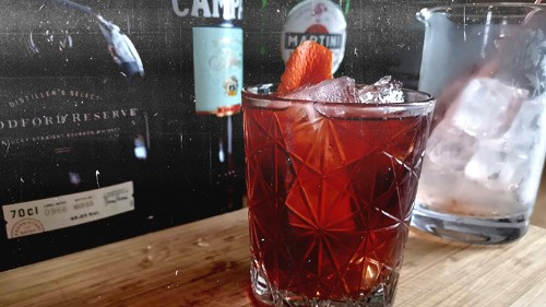 The Boulevardier Is The Perfect Holiday Cocktail, Here's Our Recipe