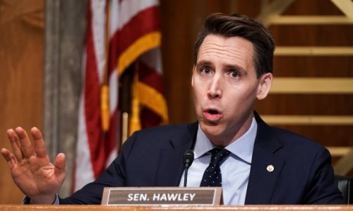 Josh Hawley's On-Brand For Hate-Crime Bill Vote, No One's Surprised