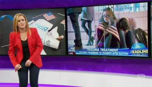 Watch Samantha Bee Analyze The Post-Election Wave Of Depression