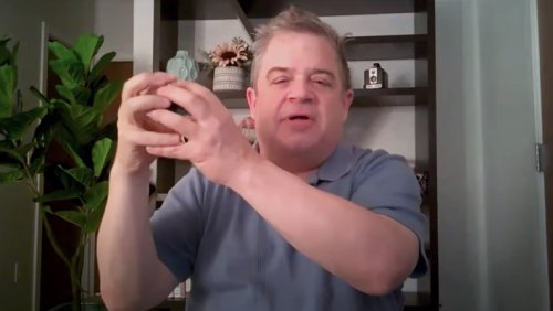 Patton Oswalt Tells Jimmy Kimmel About The Time His Dad Saw UFOs