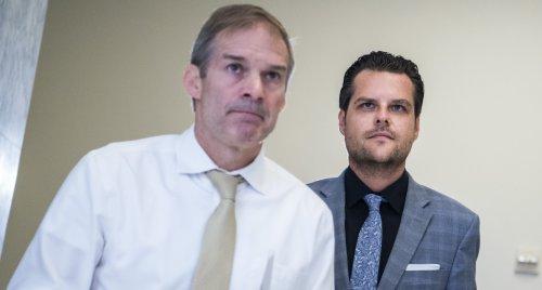 Matt Gaetz And Jim Jordan Were Nuisances At House Hearing On Bannon