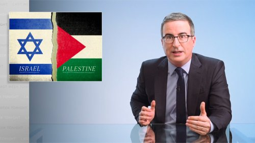 John Oliver Went HAM On Israel & Accused It Of Committing 'War Crimes'