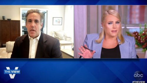 Michael Cohen Claims 'The View' Co-Hosts Apologized For Meghan McCain