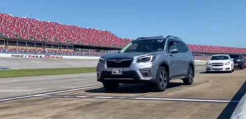 Talladega Is Vaccinating People Who Then Take A Lap In Their Own Cars