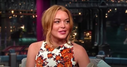 An Awkward David Letterman Interview With Lindsay Lohan Resurfaced