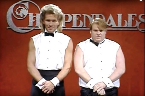 Chris Farley Was Kicked Out Of A Famous Strip Club For Dancing Naked