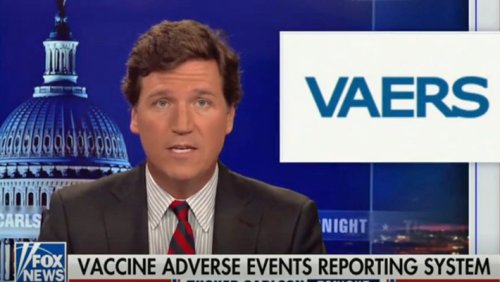 Tucker Carlson Is Attempting To Blame His COVID Vaccine Lies On Biden