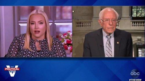 Bernie Sanders Shut Down Meghan McCain's Attack On The Squad