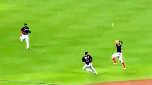 Cedric Mullins Turned A Pop Fly Into A Triple Against The Red Sox